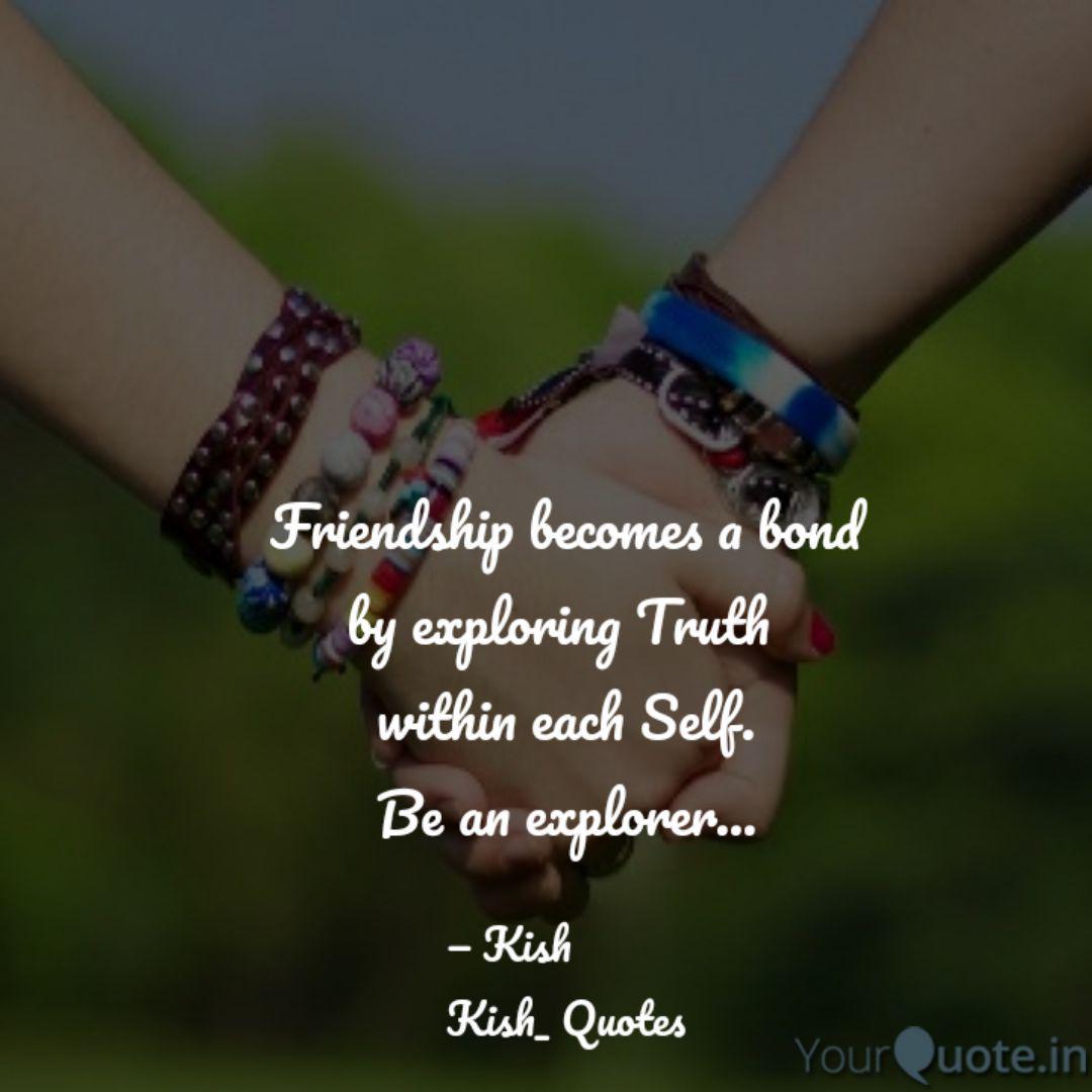 Friendship bond