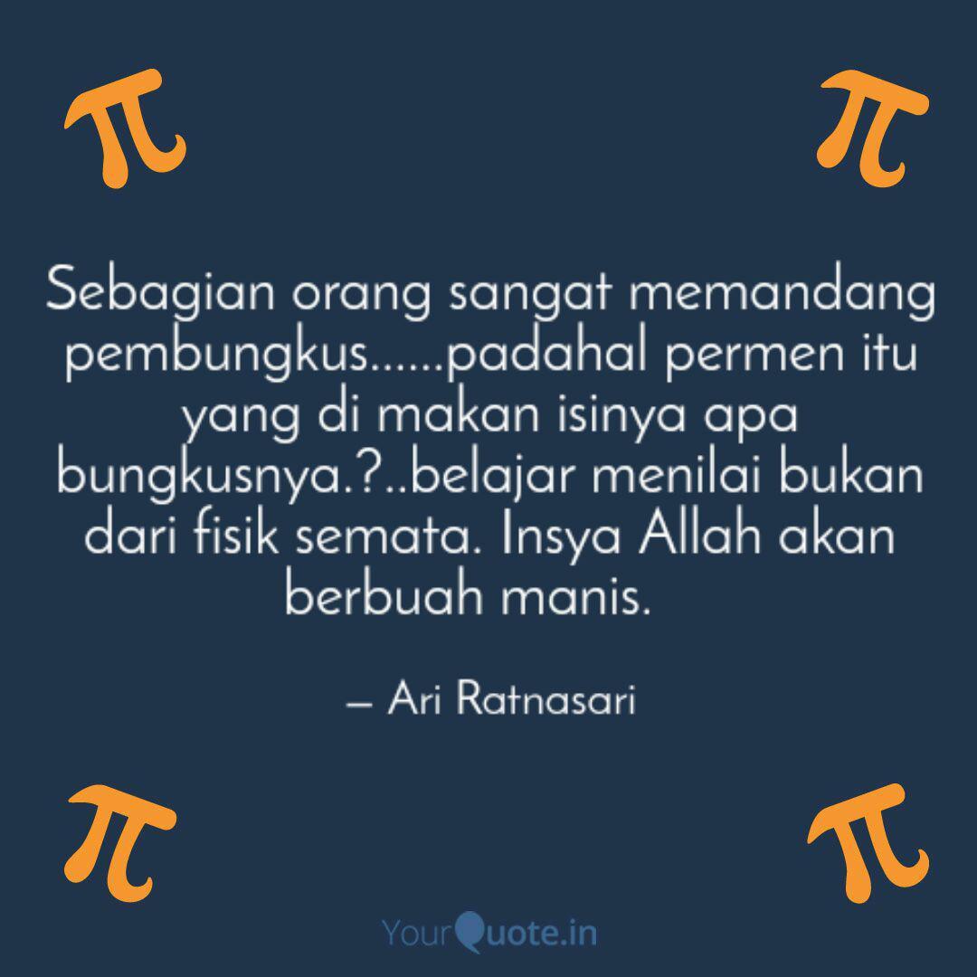 Sebagian Orang Sangat Mem Quotes Writings By Ari Ratnasari