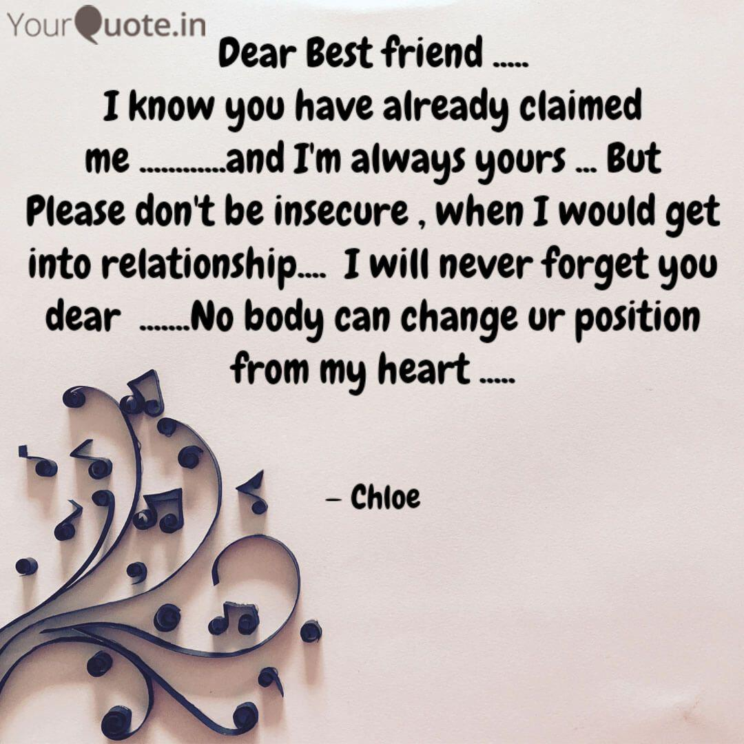 dear best friend i quotes writings by nilakshi