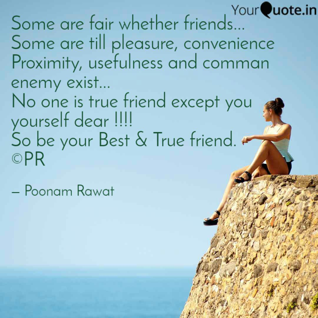some are fair whether fri quotes writings by poonam rawat