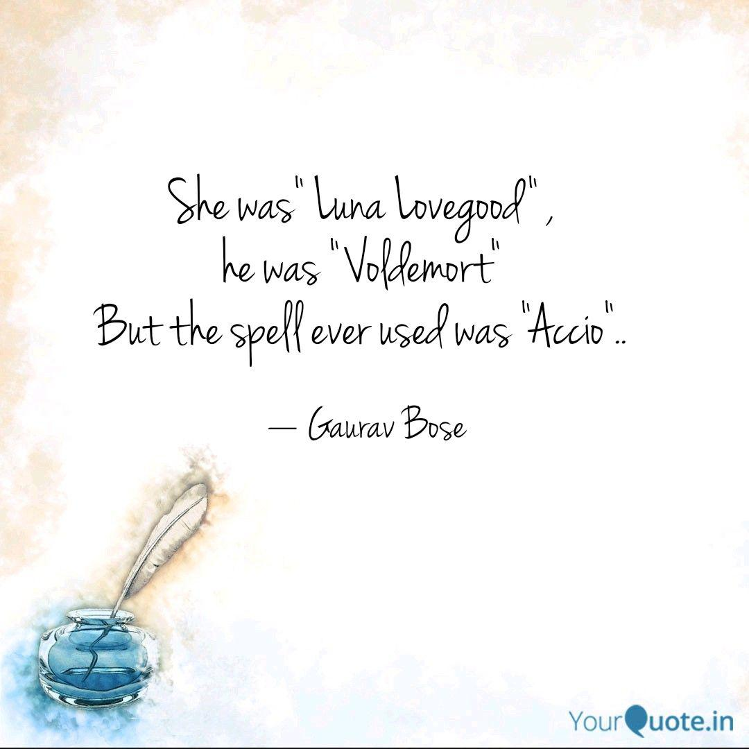 She Was Luna Lovegood Quotes Writings By Gaurav Bose Yourquote