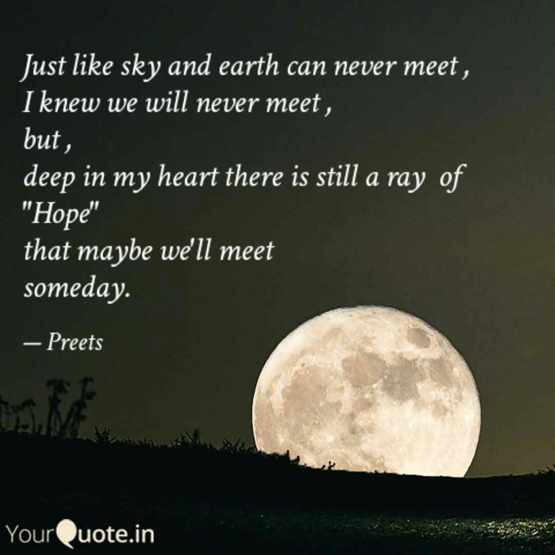 just like sky and earth c quotes writings by preeti lata