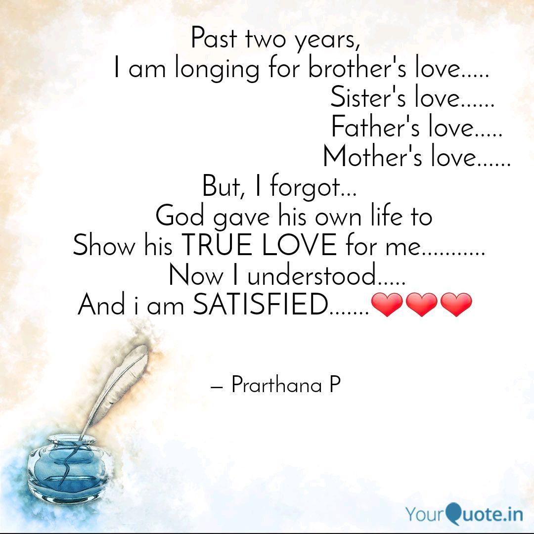 Past Two Years I Quotes Writings By Prarthana P Yourquote