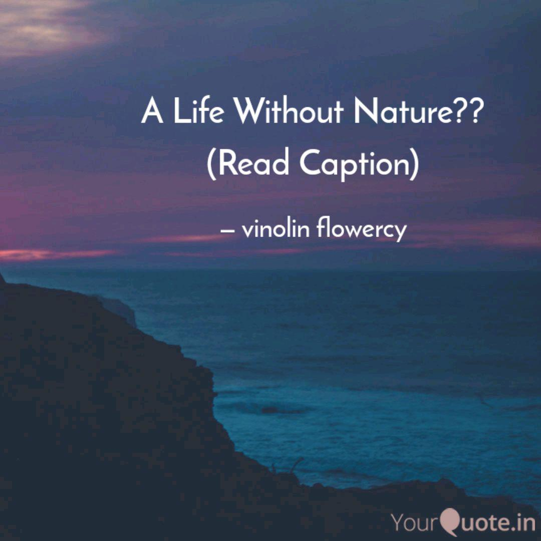 a life out nature quotes writings by vinolin