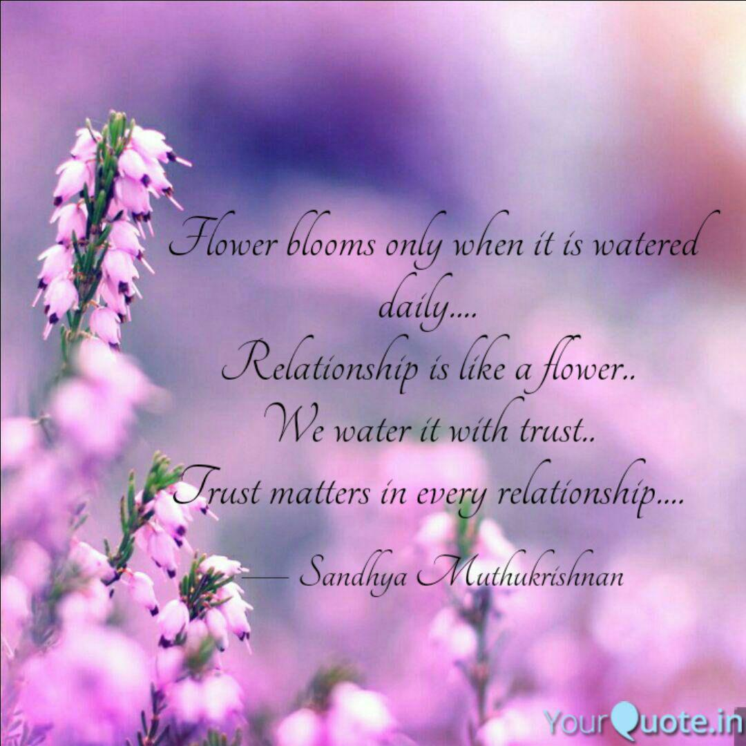 flower blooms only when i quotes writings by sandhya