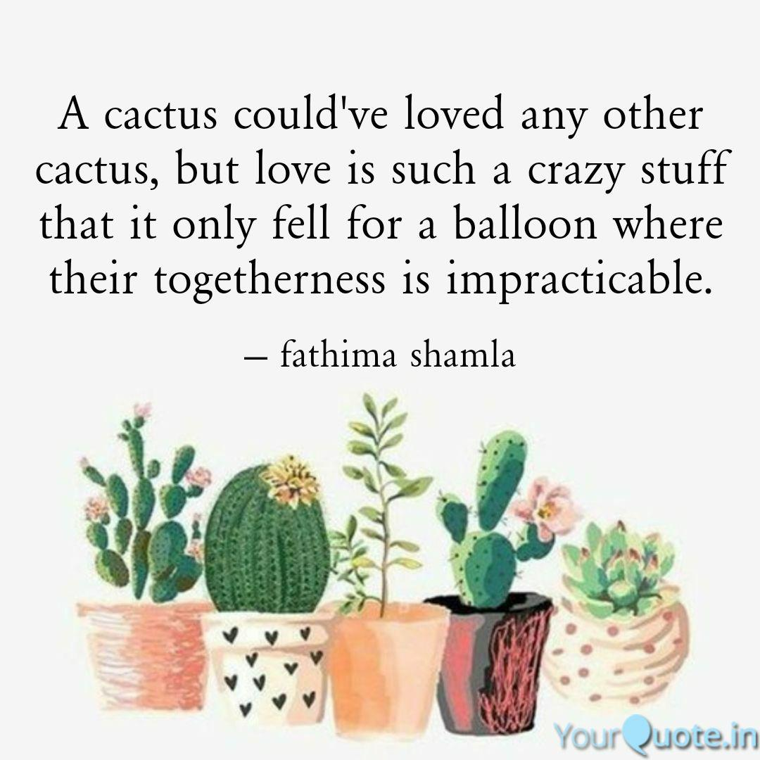 best cactus quotes status shayari poetry thoughts yourquote
