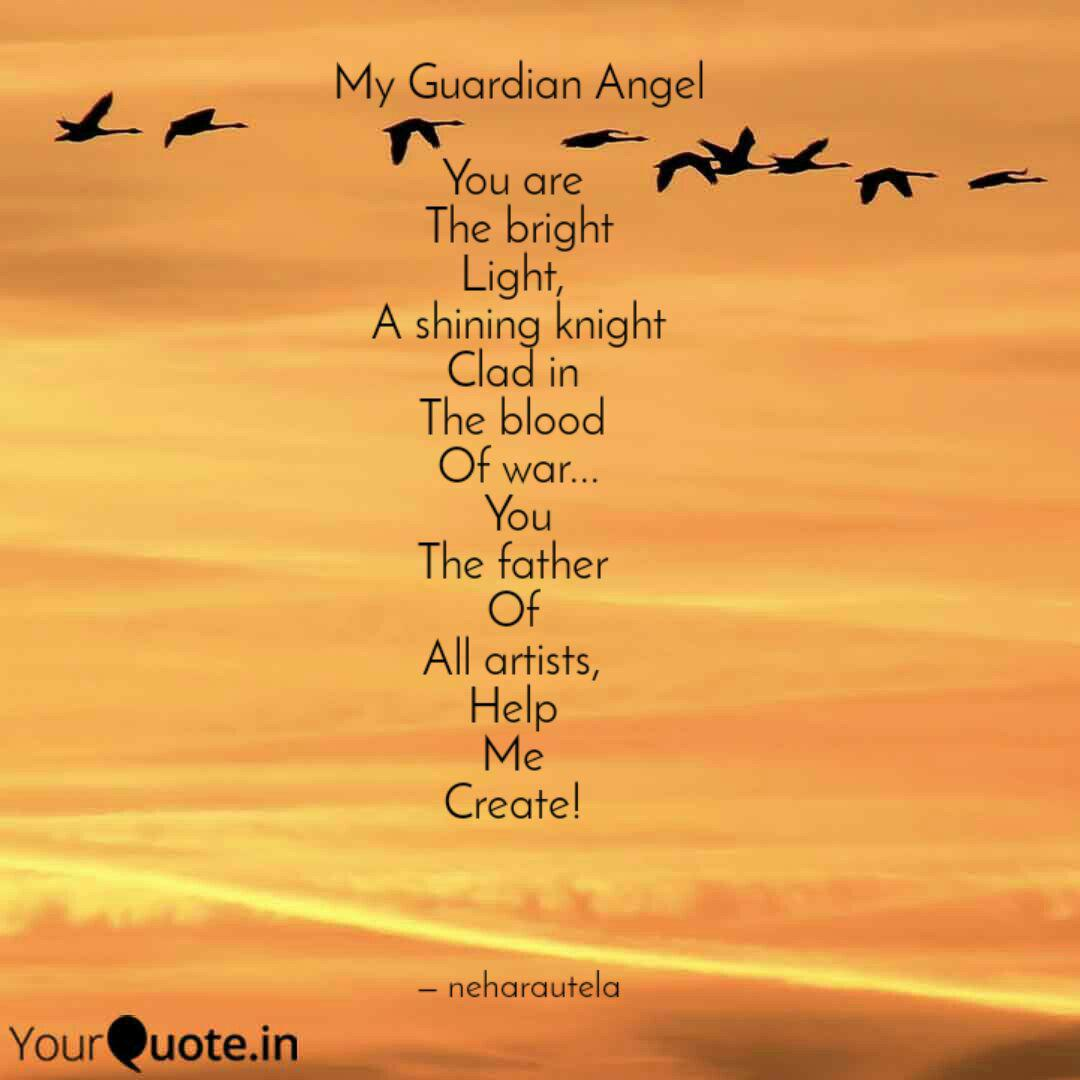 My Guardian Angel You ar... | Quotes & Writings by Neha ...