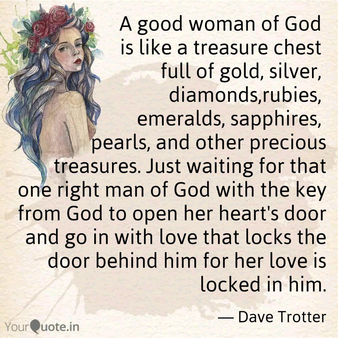 A good woman of God is l... | Quotes & Writings by Dave ...