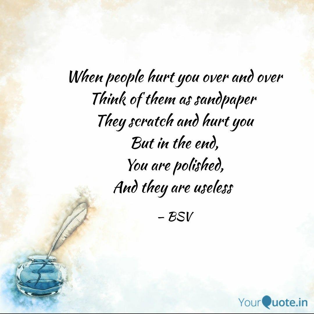 You people hurt Toxic People: