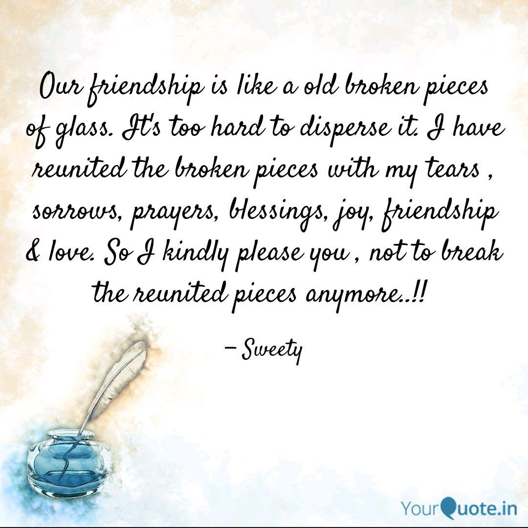 our friendship is like a quotes writings by sindhuja