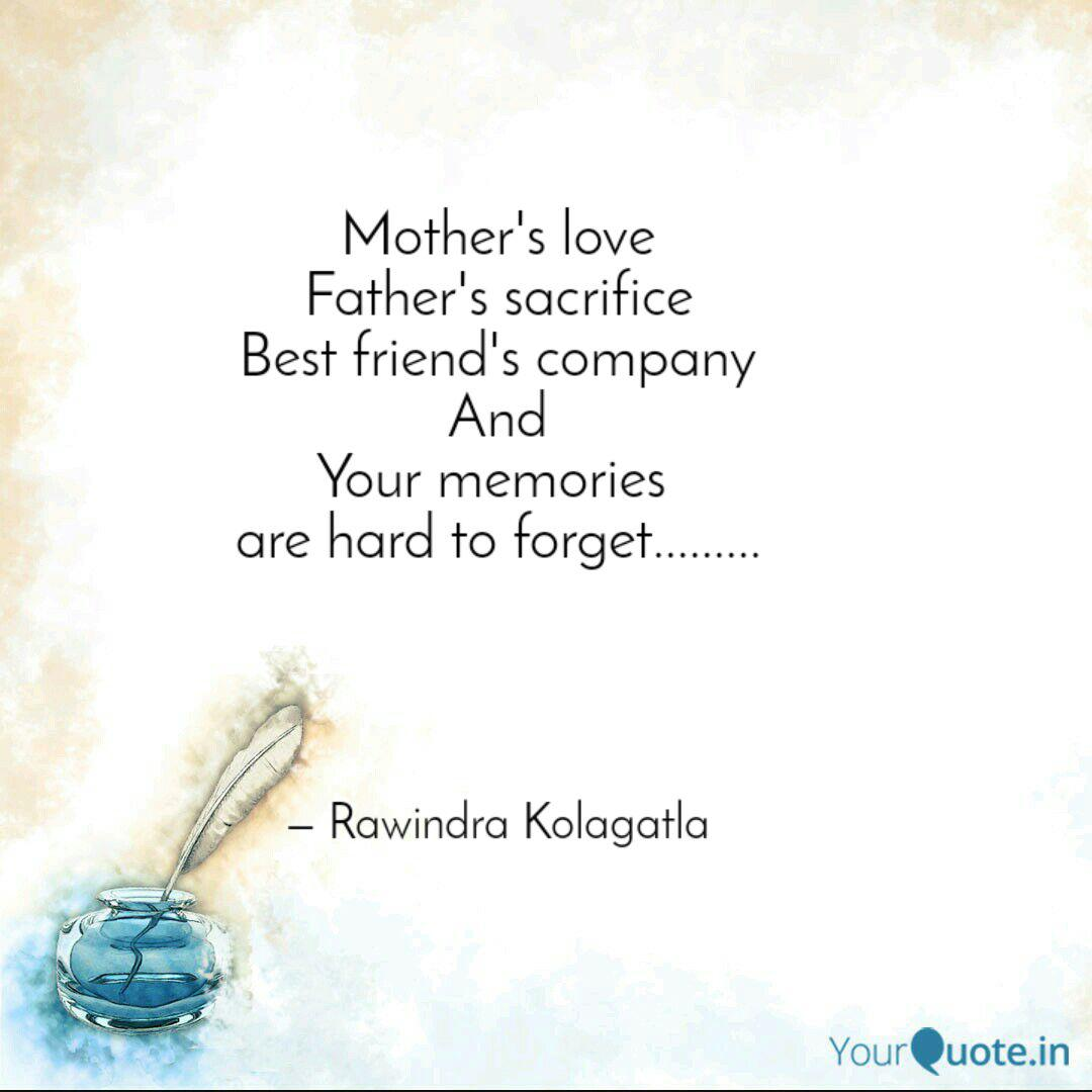 Mother S Love Father S Sa Quotes Writings By Ravindra Reddy Yourquote