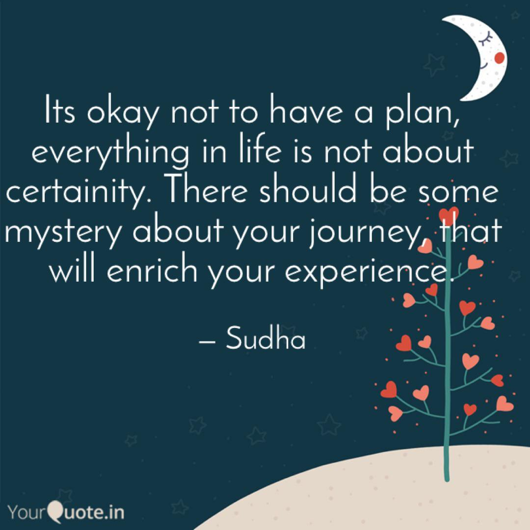 its okay not to have a pl quotes writings by sudha