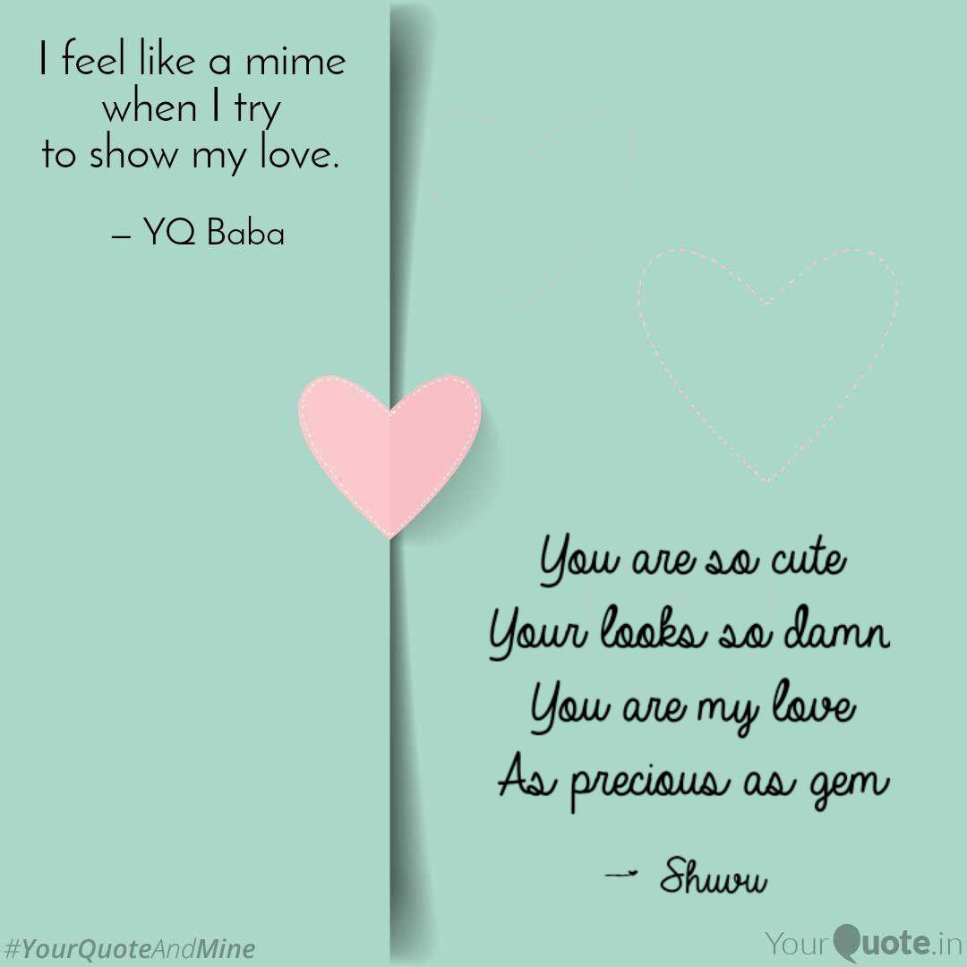 You are so adorable quotes