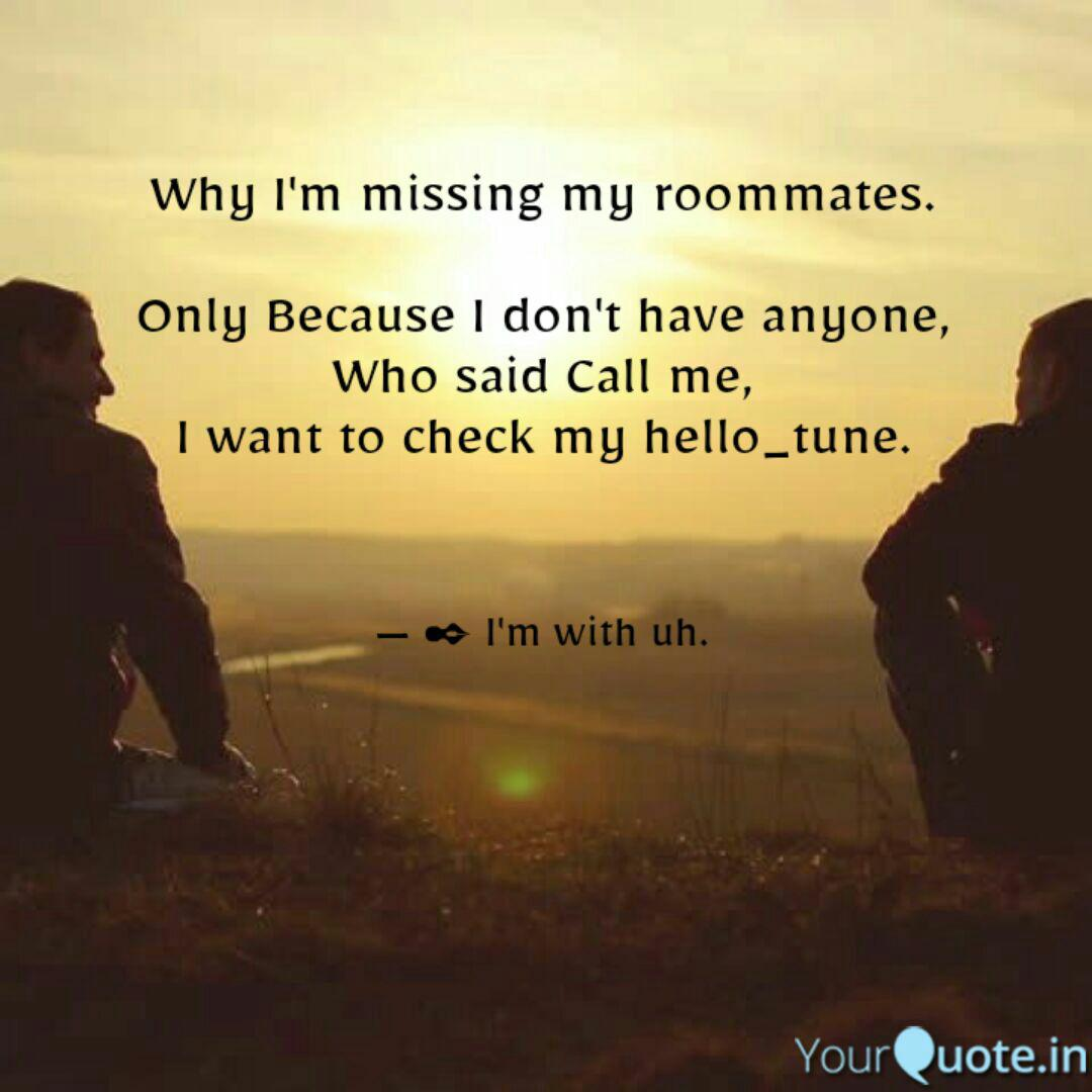 Best roommates Quotes, Status, Shayari, Poetry & Thoughts ...