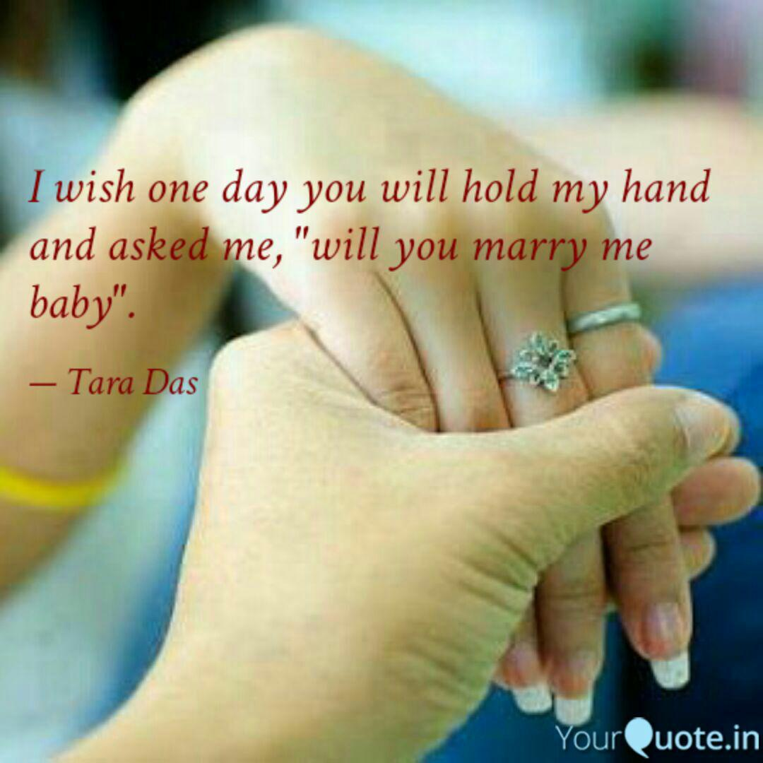 He me will day marry one The Difference