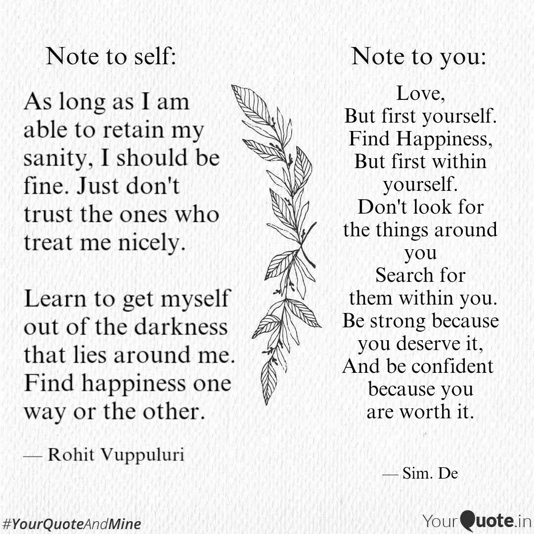 love but first yourself quotes writings by simrat deol