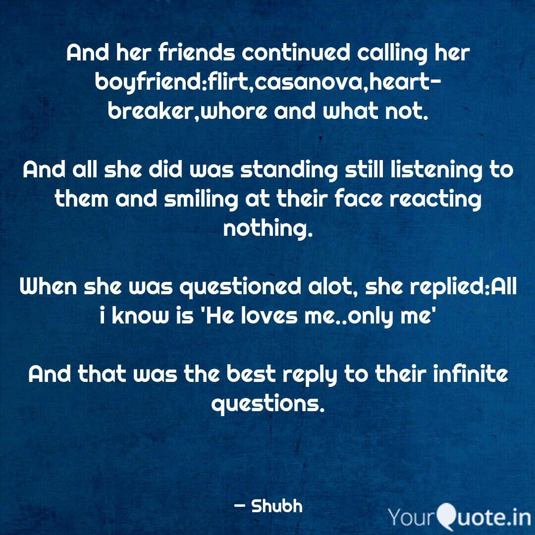 and her friends continued quotes writings by offmood