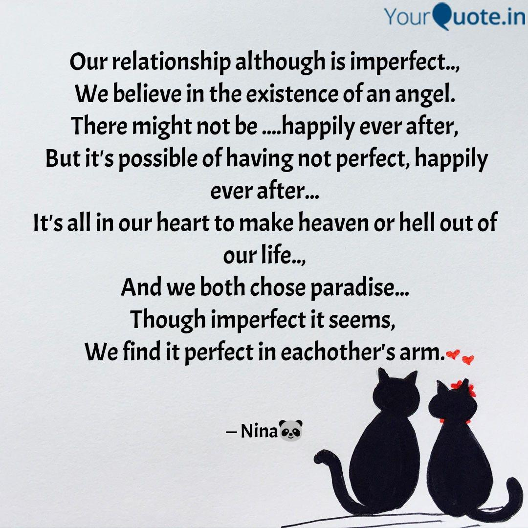 our relationship although quotes writings by nina rai