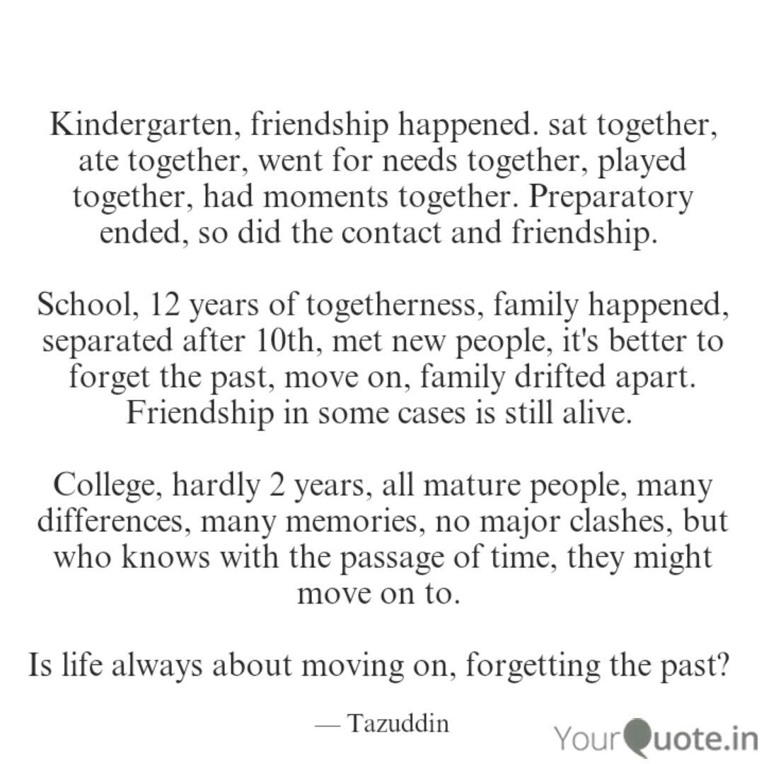 kindergarten friendship quotes writings by tazuddin ahmed