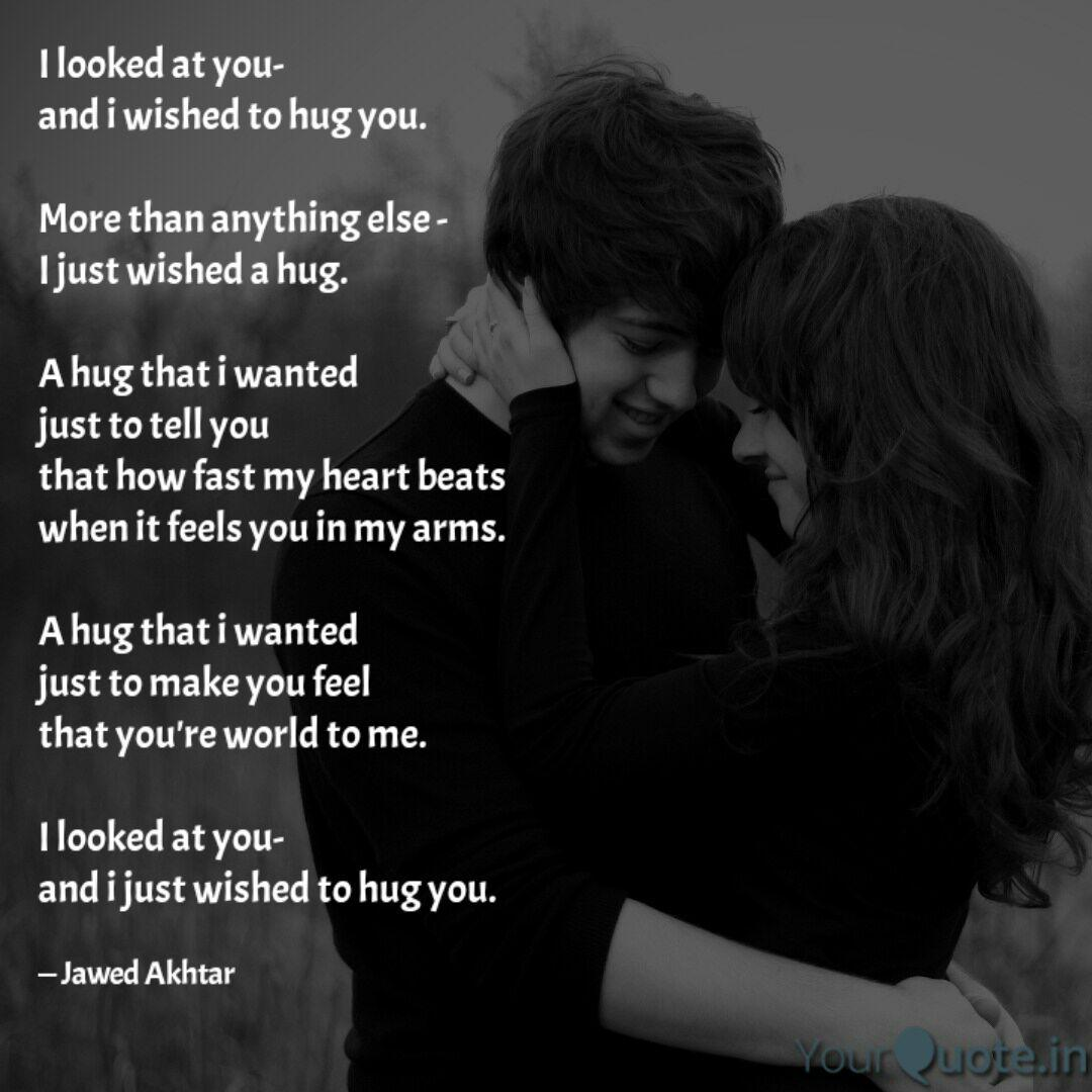 Best hugging Quotes, Status, Shayari, Poetry & Thoughts  YourQuote