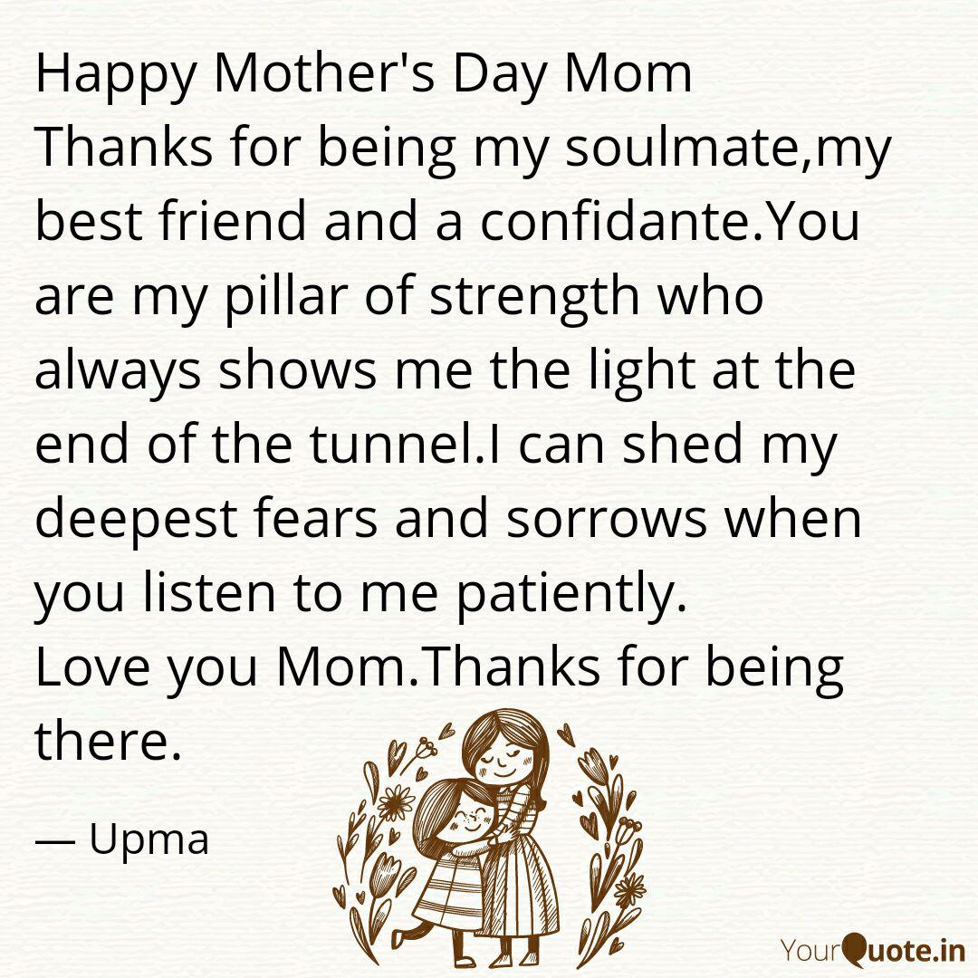Happy Mother S Day Mom Th Quotes Writings By Upma Hans