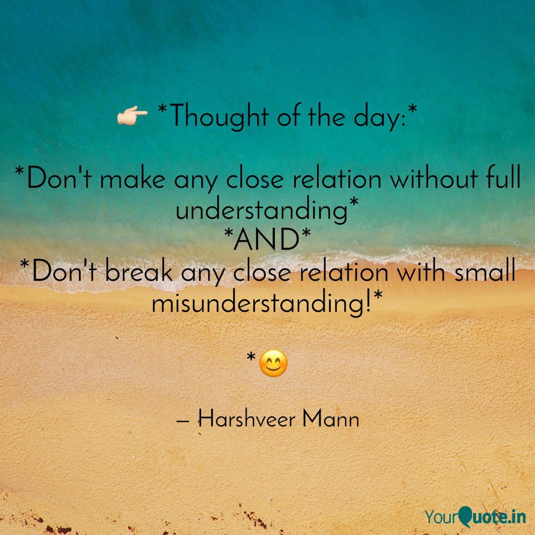 Thought Of The Day Quotes Writings By Harshveer Mann Yourquote