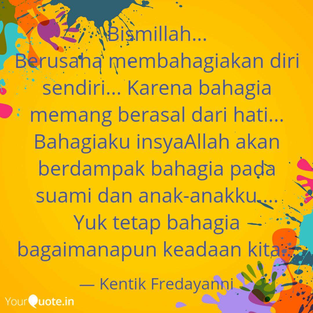 bismillah berusaha mem quotes writings by kentik